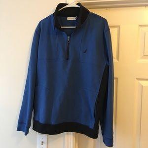 NAUTICA⛵️90s Vintage Half Zip Sweater Men's Large